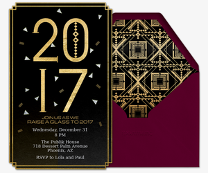 Art Deco 2017 Invitation