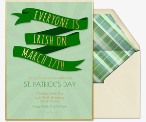 Everyone's Irish Invitation