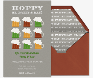 Hoppy Steins Invitation