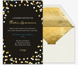 Going Away Party Invite for awesome invitations design