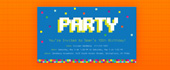 8 bit, 8-bit, arcade, computer, gamer, party, pixelated, pixels, video game, video games