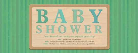 aqua, baby, block, gender neutral, green, shower, unisex, wood, gender reveal,
