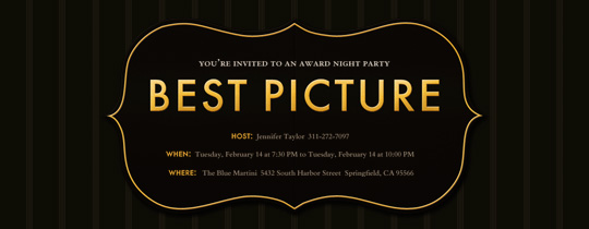 Best Picture Invitation