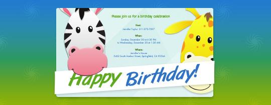 animals, bday, birthday, giraffe, happy, kids, zebra, zoo