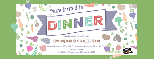 Dinner Party Invitation