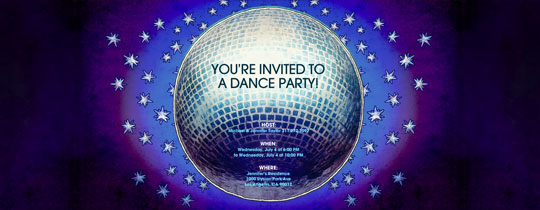 Discotheque Invitation