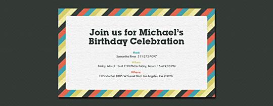 diagonal, gray, masculine, stripes, boys, boys birthday, 40th, 50th, 30th, 30th birthday, 40th birthday, 50th birthday, 30, 40, 50,