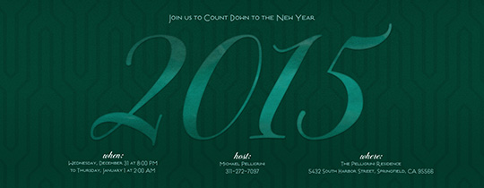 new year, new year's eve, new year's eve party, green, emerald, 2015,