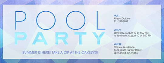 adult pool party, blue, geometric, pool, pool party, water, swim, swimming,