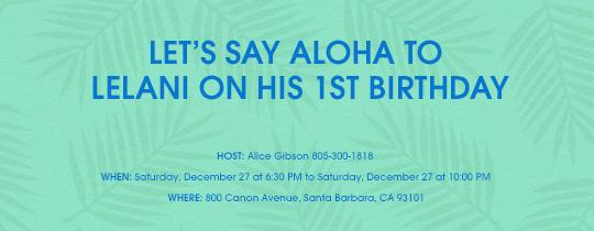 luau, tiki, summer, outdoor fun, backyard, hawaiian, hawaii, luau birthday, 1st birthday, first, 1st, 1, first birthday, aloha