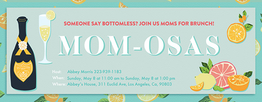 momosas Invitation