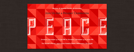 Peace Invitation