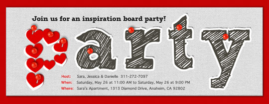 Pinboard Invitation