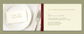 benefit, dinner, dinner party, napkin, plate, rehearsal dinner, silverware