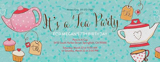 tea, tea party, kids birthday, brunch, cupcakes, hearts, tea bag, tea cup, tea pot, girls birthday,