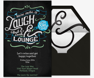 Free Cocktail Party Invitations RSVP Tracking Evitecom - Cocktail party invitation template