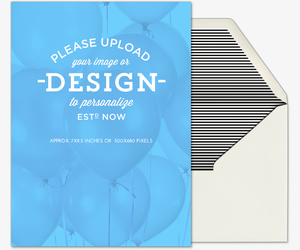 Design Your Own Card Invitation