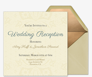 queen anne invitation - Wedding Invitations Online