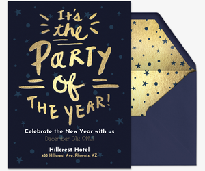 New years eve party invitations evite party of the year invitation stopboris Images