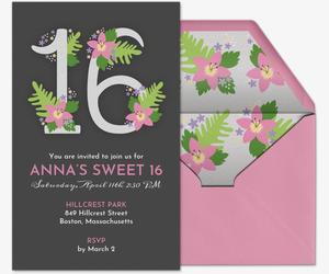 free online birthday invitations for teens evite