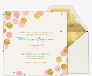 electronic birthday invite