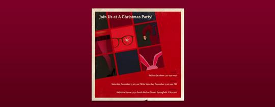 A Christmas Story Invitation