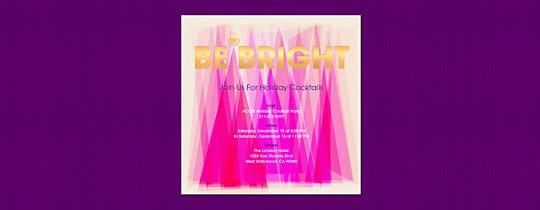 Be Bright Invitation