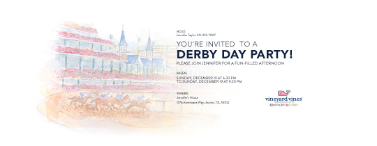 Derby Race 17 Invitation