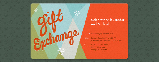 Gift Giving Invitation