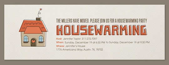 housewarming invitation message