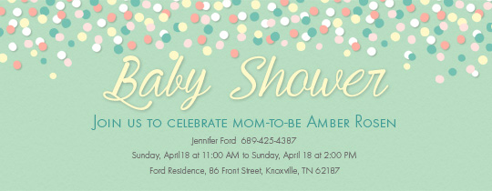 Baby Shower free online invitations – Free Online Baby Shower Invitation Templates