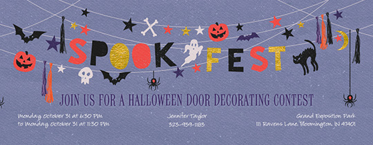 Spook Fest Invitation
