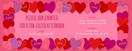 Free Valentine invitations