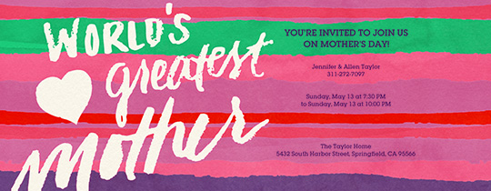 World's Greatest Invitation
